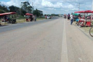 Termina bloqueo en carretera federal de José María Morelos