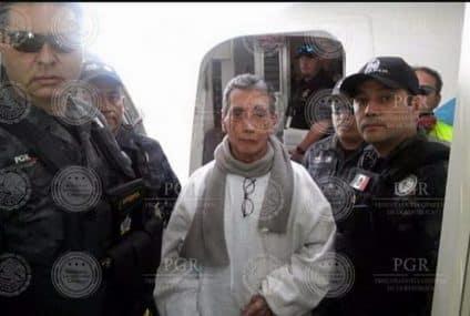Mario Villanueva llegó a México este medio día