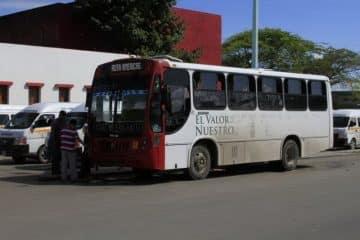 Empresas de transporte urbano hacen 'fuchi' a Chetumal