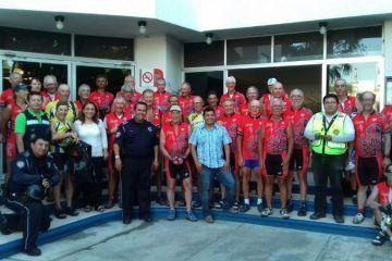 """Llega al municipio capitalino la """"Rodada Francesa de Ciclismo"""""""