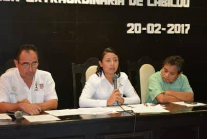 Dona el ayuntamiento dos predios a la CDI y autoriza uso de suelo para consolidar indemnización al ejido de X-Hazil.