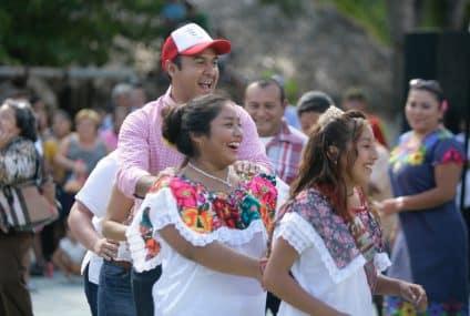 Celebra isla mujeres 500 años del encuentro entre dos culturas