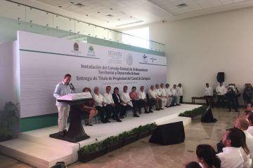 Instalan Consejo de Ordenamiento Territorial y Desarrollo Urbano de Quintana Roo