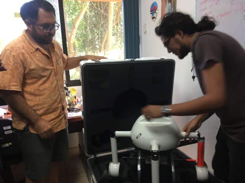 Tecnología Dron, util herramienta para restauración de ecosistemas en Q. Roo