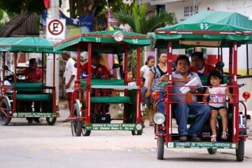 Regulan transporte en la delegación de Leona Vicario