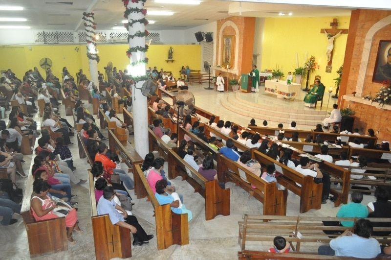 Despiden al PBRO. Omar Cortez de la parroquia san José María de Yermo y Parres
