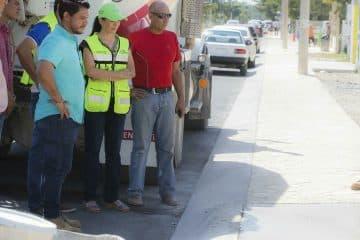 Por concluir primera etapa de modernización en la avenida Zetina Gasca De Puerto Morelos