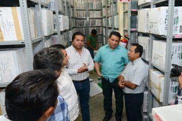 Visitan legisladores instalaciones de la Auditoría Superior del Estado