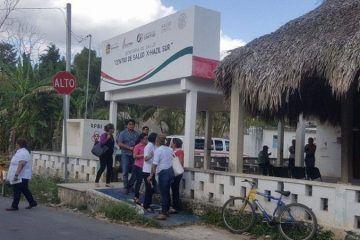 Habitantes de X-Hazil insisten en cambio de enfermero, lo acusan de acoso
