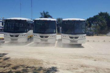 Llegan autobuses para rescate del transporte urbano de Chetumal