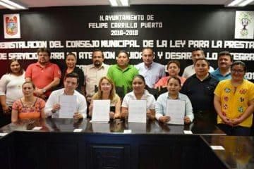 Reinstalan Consejo Municipal para la Atención, Cuidado y Desarrollo Infantil