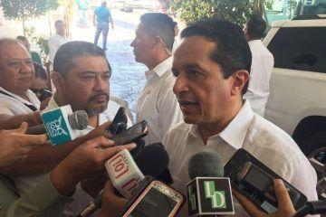Gobierno de Quintana Roo no negociará con la delincuencia: Carlos Joaquín