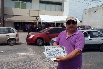Llegan nuevas placas a Quintana Roo, pero incompletas
