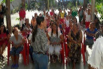 Visita Arlet Mólgora a las Mujeres Internas del Cereso de Chetumal