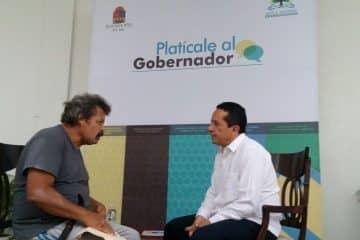 Encabeza Carlos Joaquín primera audiencia pública, Platícale al Gobernador