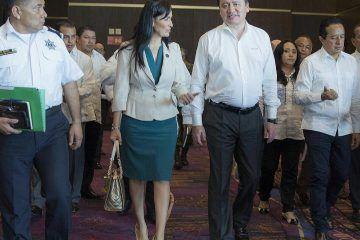 Participa Laura Fernández en reunión de Seguridad encabezada por el Secretario de Gobernación y el Gobernador de Q. Roo