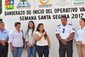 Romy Dzul, pone en marcha operativo de Semana Santa en Tulum
