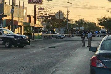 Atentado contra policía en Cancún