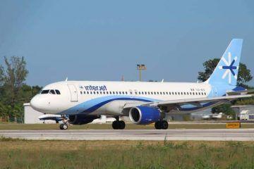 Usuarios de Interjet pernoctan en aeropuerto de Chetumal, no llegó el vuelo nocturno