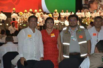 Asiste Paoly Perera al foro Global para la reducción del Riesgo de Desastre