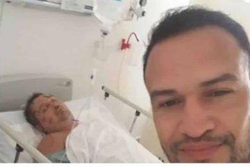 Viralizan fotografía del ruso en el hospital de Cancún
