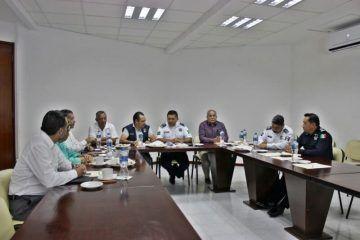 Estrechan coordinación diputados y Secretario de Seguridad Pública