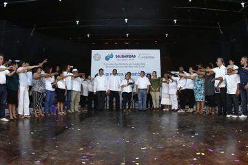 Rinden protesta integrantes de 58 Comités Vecinales de Solidaridad
