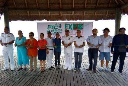 Arranca regata de veleros en la Bahía de Chetumal