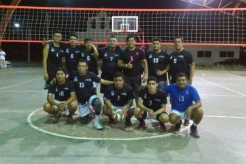 Cuervos se corona vencedor de la Liga Municipal de Voleibol