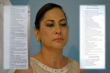 Secretaria de Educación de Q. Roo se lava las manos por las abusivas listas escolares