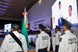 ((FOTOS)) Luis Torres, rinde cuentas a la sociedad othonense en su 1er Informe de Gobierno