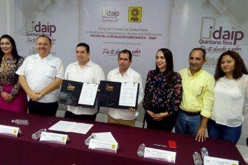 PRD se suma a la transparencia y Acceso a la Información Pública