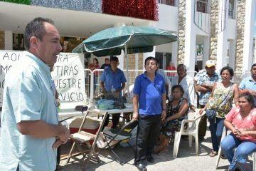 Acceden ex trabajadores a recibir pago de su deuda bajo acuerdo con el Ayuntamiento de FCP