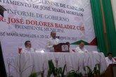 Rinde Jose Baladez su Primer Informe de Gobierno ante los morelenses