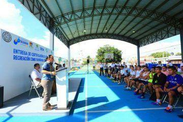 Invierte Solidaridad más de 20 MDP en recuperación y construcción de espacios públicos