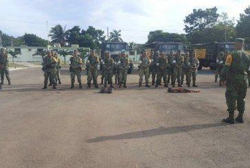Ejército Mexicano despliega más de 5 mil militares en la aplicación del Plan DN-III-E