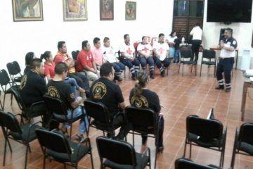 Imparte Cruz Roja FCP curso de rescate entre paramédicos