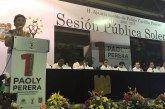 Paoly Perera, cumple el compromiso hecho con los carrilloportenses