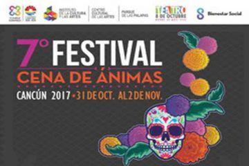 """Preservarán tradición con el VII festival """"Cena de Ánimas Cancún 2017"""""""