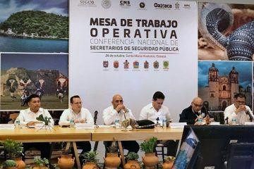 Presente Quintana Roo en encuentro nacional de Seguridad Pública