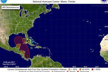 90% de posibilidad de desarrollo en un sistema tropical, en el Caribe