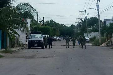 Incautan armas y drogas en domicilio del Fraccionamiento Kinichnah