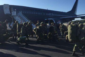 Parten militares de Quintana Roo en refuerzo de acciones al estado de Tamaulipas