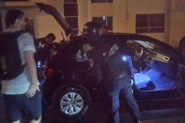 Allana vivienda con pistola en mano; intensa movilización policial