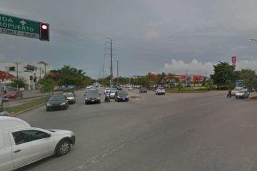 Cierran cruzamientos para dar mayor agilidad vehicular a la Av. Kabah