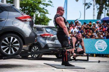 ((FOTOS)) Strongman Champions League Levantamiento de peso muerto