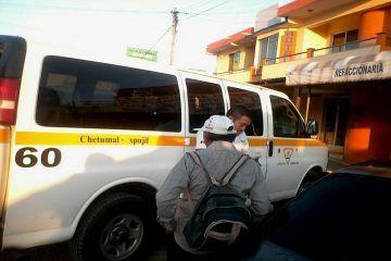 """Por no respetar convenios, traxistas de Campeche y Q. Roo viven """"agarrados del chongo"""""""