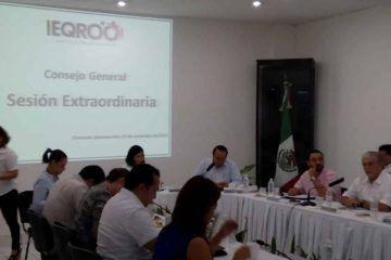 En medio de debate, Consejo General del Ieqroo aprueba presupuesto 2018