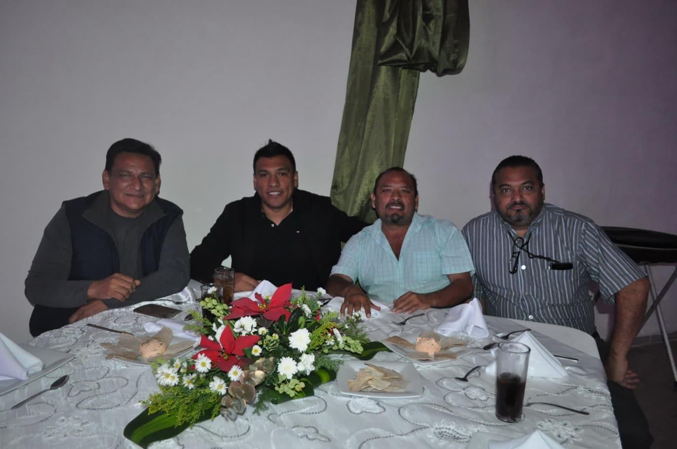 Hernán Pastrana, Jorge Arguelles, Ramon Cabrera y Roberto Cetina.
