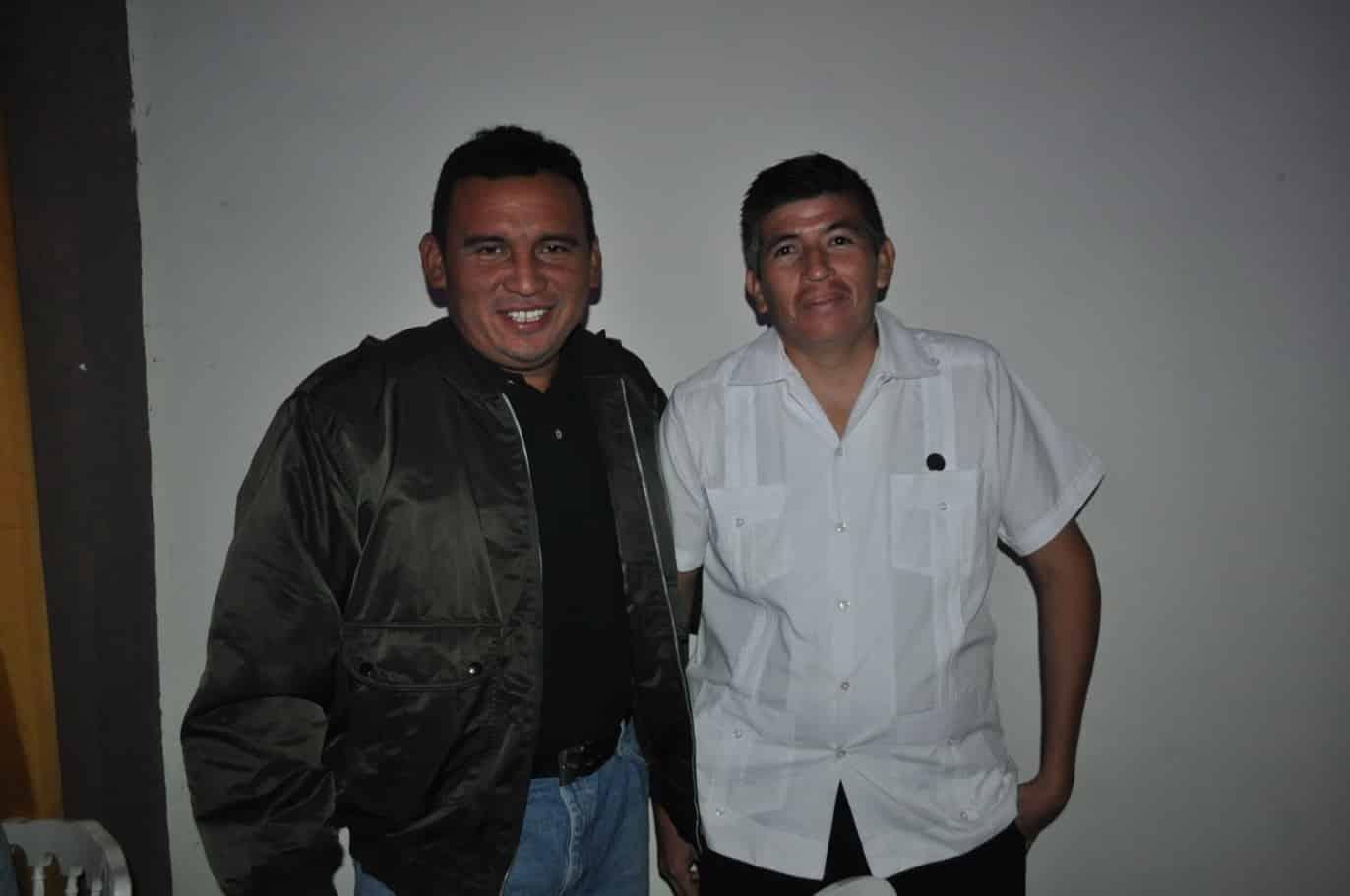 Herlindo Vázquez y Lauro Borges.